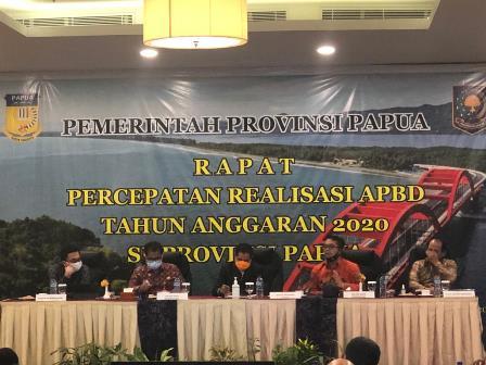 Rapat Percepatan APBD TA 2020