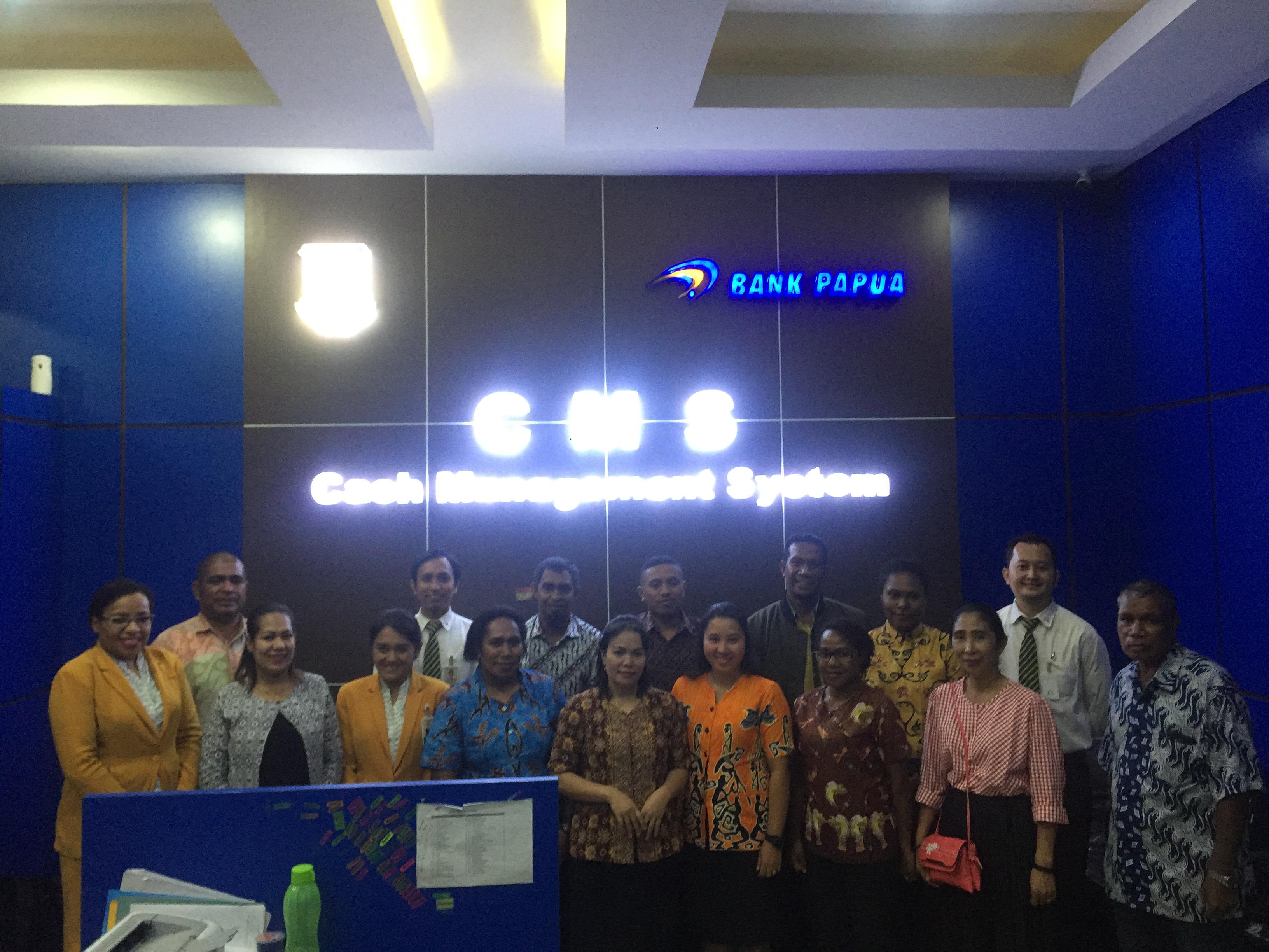 Menerima Kunjungan BPKAD Kab.MIMIKA Tahun 2018